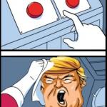 Two Buttons Trump meme