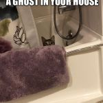 Watching | WHEN YOU THINK THERE'S A GHOST IN YOUR HOUSE AND IT'S JUST HIM | image tagged in watching | made w/ Imgflip meme maker
