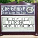 23vexl church sign meme generator imgflip