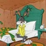 Bugs Bunny Tired meme