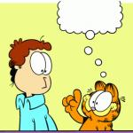 Garfield comic vacation meme
