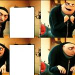 Gru Diabolical Plan Fail meme