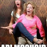 Scared | WHEN GIRLS SEE ARI MCQUOID | image tagged in scared | made w/ Imgflip meme maker