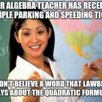 "It's an ""add"" hominem! 