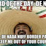 hispanic word of the day