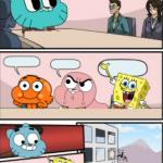 gumball meeting suggestion meme