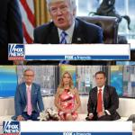 Fox Spins Trump News meme