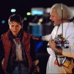 Marty McFly and Doc Brown meme
