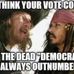 "California elections | YOU THINK YOUR VOTE COUNTS BUT THE DEAD ""DEMOCRATS"" WILL ALWAYS OUTNUMBER YOU 