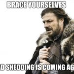 Brace Yourselves X is Coming Meme | BRACE YOURSELVES LOAD SHEDDING IS COMING AGAIN | image tagged in memes,brace yourselves x is coming | made w/ Imgflip meme maker