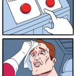 This is a real choice. | CURE CANCER GET 100 FORTNITE DIAMONDS | image tagged in memes,two buttons | made w/ Imgflip meme maker