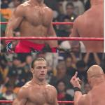 Stone Cold Steve Austin & Heartbreak Kid meme