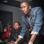 Young Thug and Lil Durk troubleshooting meme