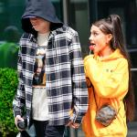 Ariana Grande and Pete Davidson meme