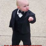 Baby Godfather Meme | HOW THE HELL DO U NOT LIKE BACON | image tagged in memes,baby godfather | made w/ Imgflip meme maker