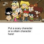 Loud House against... meme template  meme