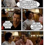 "You should always lock your doors. | I STUMBLED INTO BED LAST NIGHT AND SHE SAID ""YOU'RE DRUNK"" HOW DID SHE KNOW SHE SAID ""YOU LIVE NEXT DOOR"" 