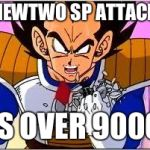 Its OVER 9000! | MEWTWO SP ATTACK IS OVER 9000 | image tagged in its over 9000 | made w/ Imgflip meme maker