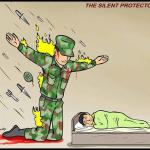 the silent protector meme