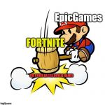 "Fortnite is ""SMASHING"" the competition on other  Battle Royale games 