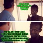 "Captain Phillips - I'm The Captain Now Meme | OKAY, NO, LISTEN, FOCUS, MEMORIZE...IT'S PRONOUNCED ""KAVVY ARE"" AND TELL 'EM I WANT 'ALMAS', COMES FROM PINK IRANIAN BELUGAS - A KILOGRAM -  