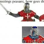 BY THE POPE meme