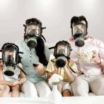 Gas Mask Family Movie meme