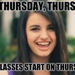 Rebecca Black Meme Generator - Imgflip