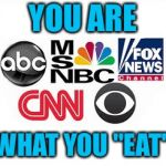 "Media Lies | YOU ARE WHAT YOU ""EAT"" 
