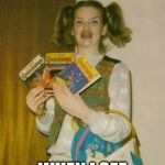 Ermahgerd Berks Meme | MY FACE WHEN I SEE A CHEESBURGER | image tagged in memes,ermahgerd berks | made w/ Imgflip meme maker