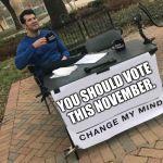 Change my mind Crowder Meme Generator - Imgflip