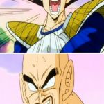 No Nappa Its A Trick Meme | NO NAPPA IT'S A TRAP ! BUT VEGETA, HE LOOKS SO FEMININE | image tagged in memes,no nappa its a trick | made w/ Imgflip meme maker