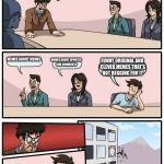 Boardroom Meeting Suggestion Meme | HOW DO WE GET TO THE FRONT PAGE MEMES ABOUT MEMES MEMES ABOUT UPVOTES AND COMMENTS FUNNY ORIGINAL AND CLEVER MEMES THAT'S NOT BEGGING FOR IT | image tagged in memes,boardroom meeting suggestion | made w/ Imgflip meme maker