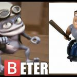 Hey Beter | HEY        ETER | image tagged in crazy frog,hey beter | made w/ Imgflip meme maker