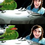 Overly attached girlfriend kills Miss Piggy meme