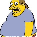 Comic Book Guy Meme | SOCK BOY WORST PM EVER !!! | image tagged in memes,comic book guy | made w/ Imgflip meme maker