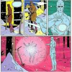Too soon Dr. Manhattan meme