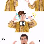 PPAP Meme | I HAVE A MONOMER P-O-L-Y-M-E-R I HAVE A MONOMER UH | image tagged in memes,ppap,scumbag | made w/ Imgflip meme maker