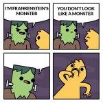Frankenstien's Monster meme