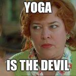 Waterboy Kathy Bates Devil Meme Generator Imgflip