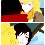 rwby | YANG:HAIL HYDRA RUBY:???!!!! | image tagged in rwby | made w/ Imgflip meme maker