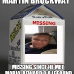 "Dean Ambrose ""Missing"" Milk Carton Art Print by They Call ... |Custom Milk Carton Missing Person"