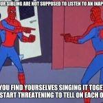 spiderman pointing at spiderman Meme Generator - Imgflip