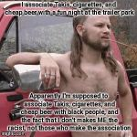 "SJWs seeing ""racism"" often says more about their own racism than racism of those they accuse 