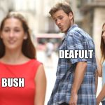 Cheating | DEAFULT SCAR BUSH | image tagged in cheating | made w/ Imgflip meme maker
