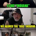 "American Chopper Argument Indiana Jones Style (Octavia_Melody  Inspired) | THAT'S YOUR NAME, ''JUNIOR'' I LIKE ""INDIANA'' WE NAMED THE *DOG* INDIANA I'VE GOT A LOT OF FOND MEMORIES OF THAT DOG IT STILL DOESN'T CHANG 
