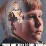 PTSD Clarinet Boy Meme | YOUR FACE THOU... WHEN YOU THINK OF SOMETHING FUNNY WHEN YOU'RE BEING TOLD ABOUT SOMETHING SERIOUS. | image tagged in memes,ptsd clarinet boy | made w/ Imgflip meme maker