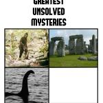 unsolved mysteries meme
