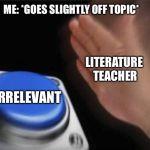 Blank Nut Button Meme Generator - Imgflip