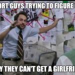 Trying to explain | SHORT GUYS TRYING TO FIGURE OUT WHY THEY CAN'T GET A GIRLFRIEND | image tagged in trying to explain,dating | made w/ Imgflip meme maker